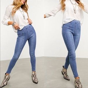 Free People Feel Alright Skinny Jegging Pull On 32